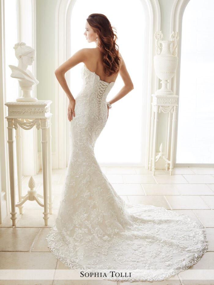 ybk lace wedding dresses