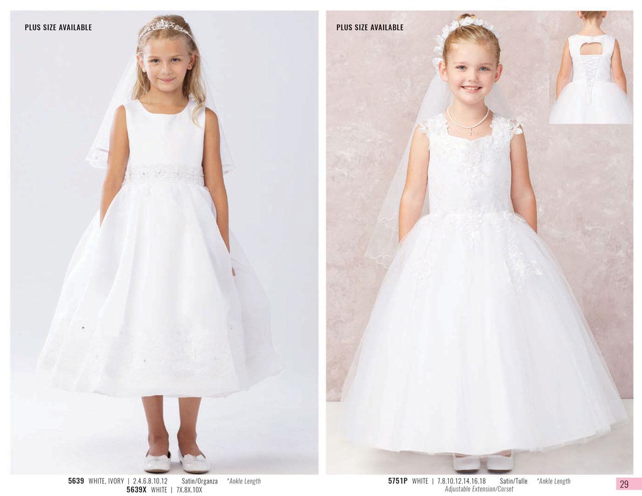 fancy girl dresses for weddings | Azbride